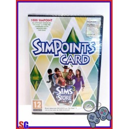 1000 SIMPOINTS CARD PER THE...
