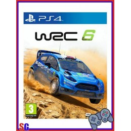 WRC 6 GIOCO PER PLAYSTATION...