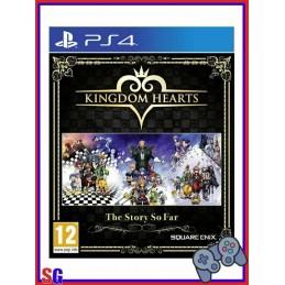 KINGDOM HEARTS THE STORY SO...