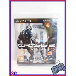 CRYSIS 2 PLAYSTATION 3 PS3...