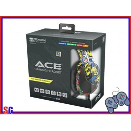 CUFFIE ACE GAMING HEADSET...