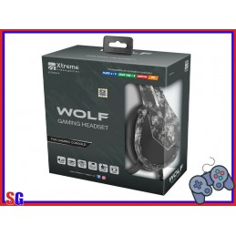 CUFFIE WOLF GAMING HEADSET...