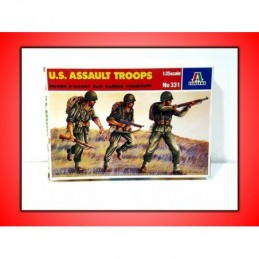 U.S. ASSAULT TROOPS ITALERI...