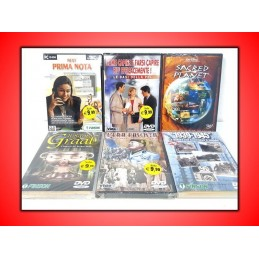 LOTTO DI 6 DVD VIDEO...