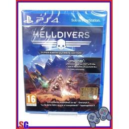 HELLDIVERS SUPER-EARTH...