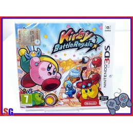 KIRBY BATTLE ROYALE GIOCO...