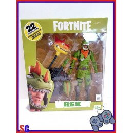 FORTNITE REX ACTION FIGURE...